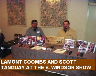 Lamont Coombs and Scott Tanguay at the E. Windsor Show