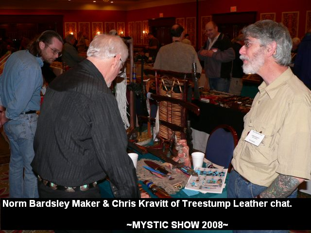 Norm Bardsley Maker & Chris Kravitt of Treestump Leather chat.