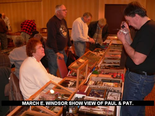 MARCH E. WINDSOR SHOW VIEW OF PAUL & PAT.