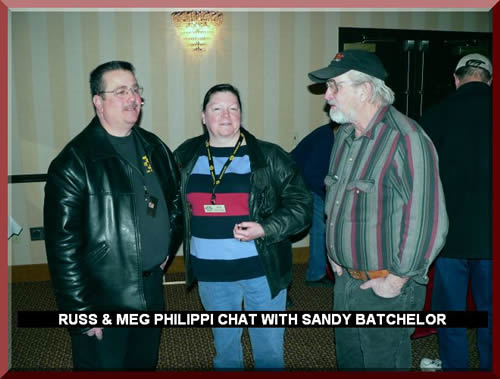 RUSS & MEG PHILIPPI CHAT WITH SANDY BATCHELOR