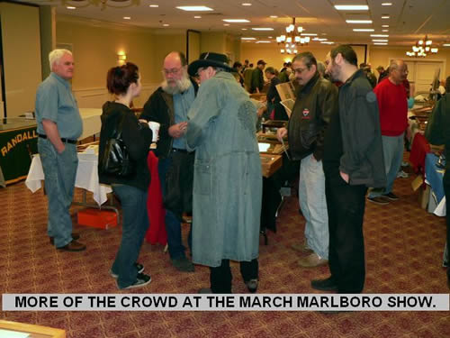 MORE OF THE CROWD AT THE MARCH MARLBORO SHOW.