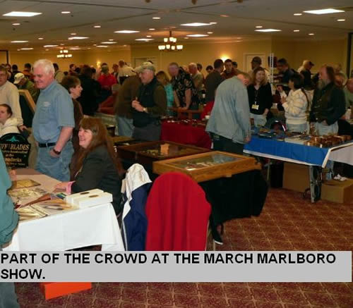 PART OF THE CROWD AT THE MARCH MARLBORO SHOW.